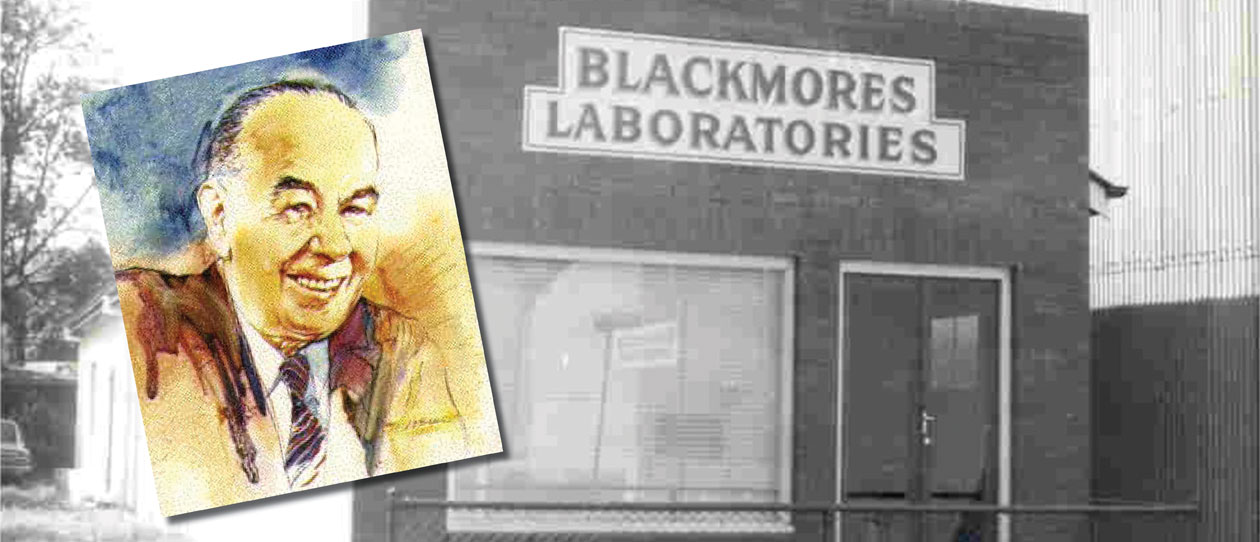Blackmores founder Maurice Blackmore