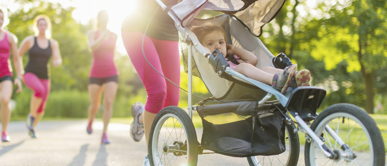 7 Ways to workout for new mums