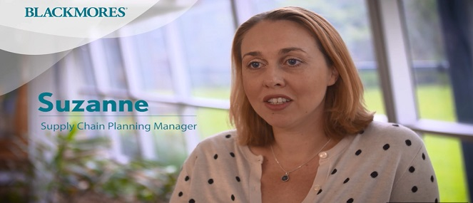 Suzanne- Supply Chain Planning Manager - Blackmores