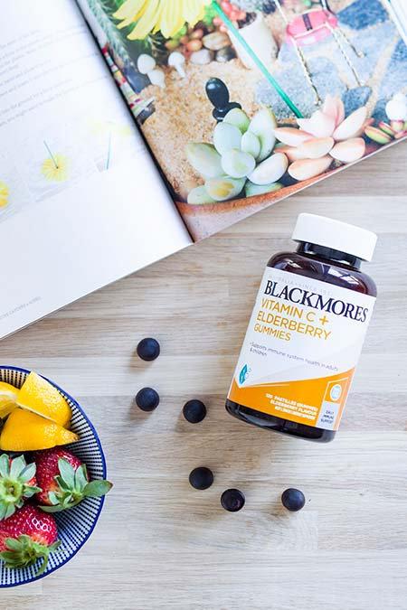 Blackmores Vitamin C plus Elderberry Gummies