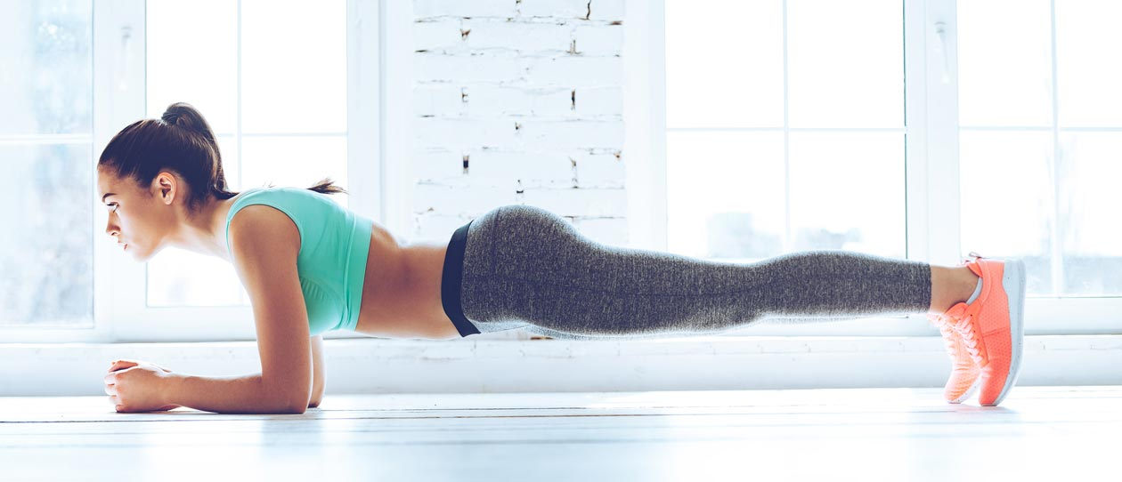 7 ways to do the plank