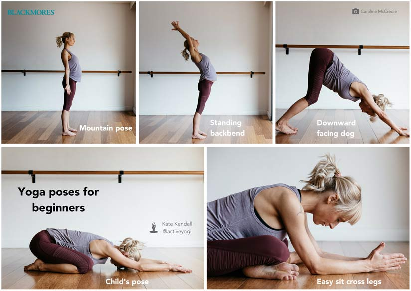 Blackmores yoga poses for beginners