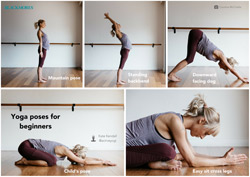 Yoga poses for beginners - Blackmores