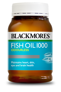 Blackmores Fish Oil 1000 Odourless