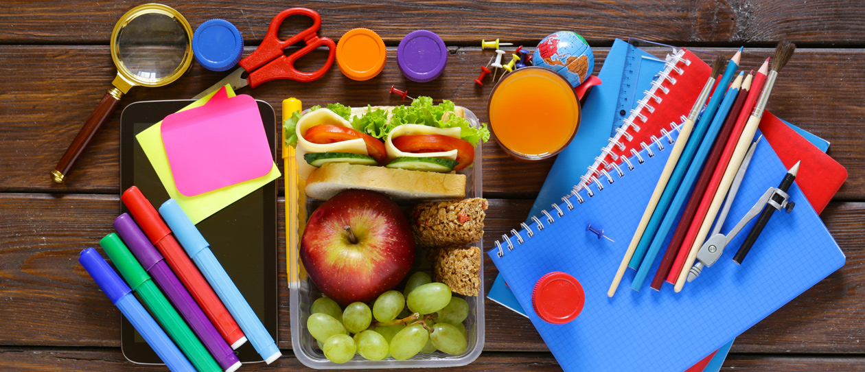5 easy ways to pack a healthy lunch box