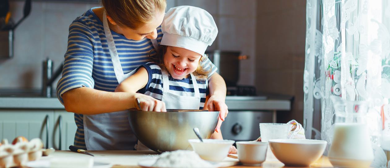 5 ways to get cooking with your kids