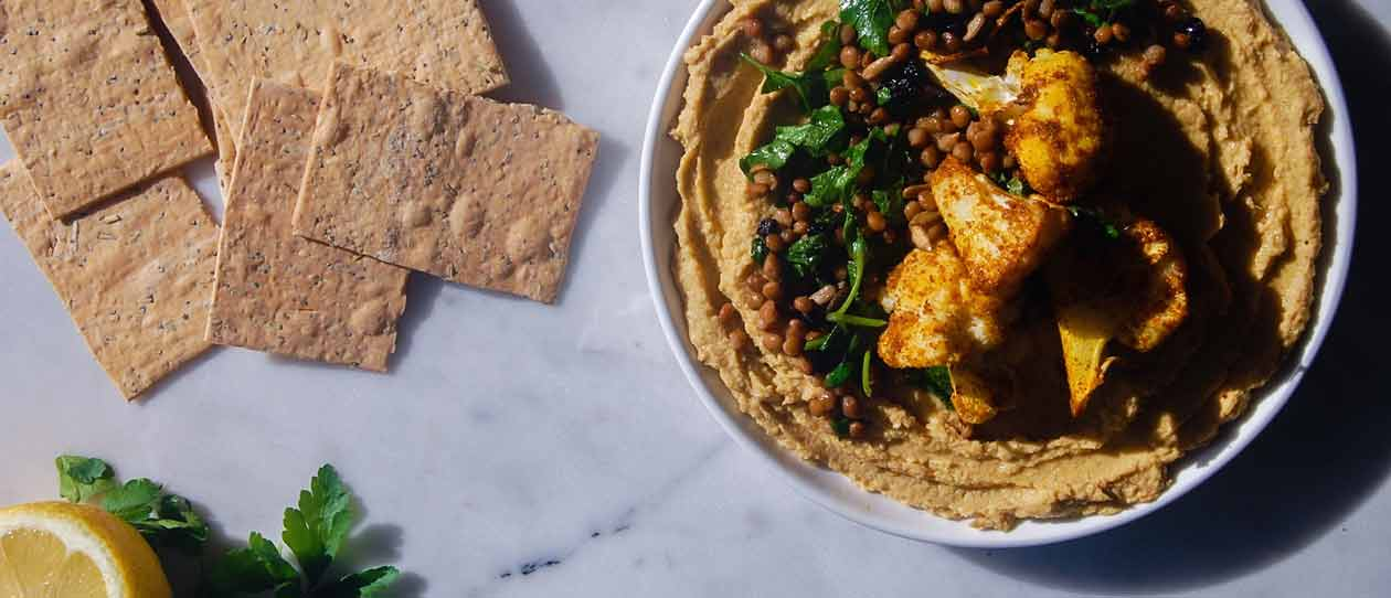 Cauliflower and lentil dip | Blackmores