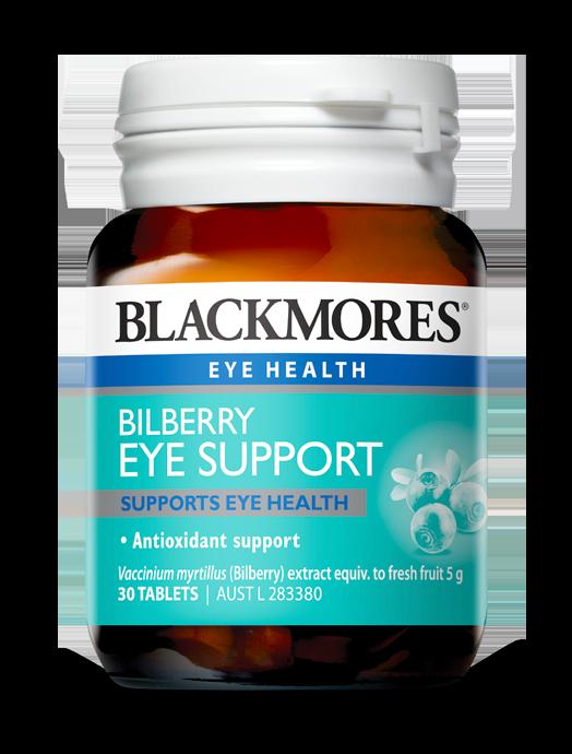 Bilberry and eye health