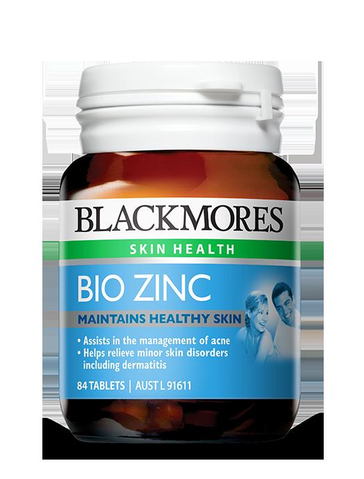 Taking zinc supplements