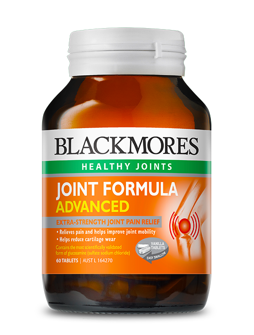 Joint formula advanced blackmores for Fish oil for knee pain