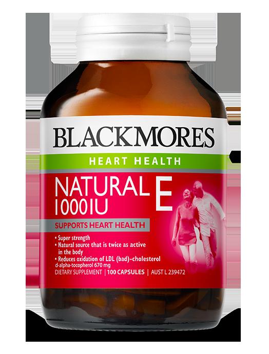 Blackmores Natural E 1000iu Blackmores