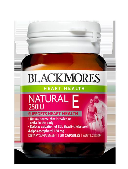 Natural E 250iu Blackmores