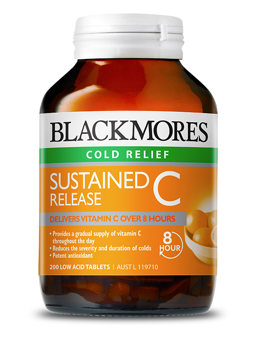 Sustained Release C Blackmores
