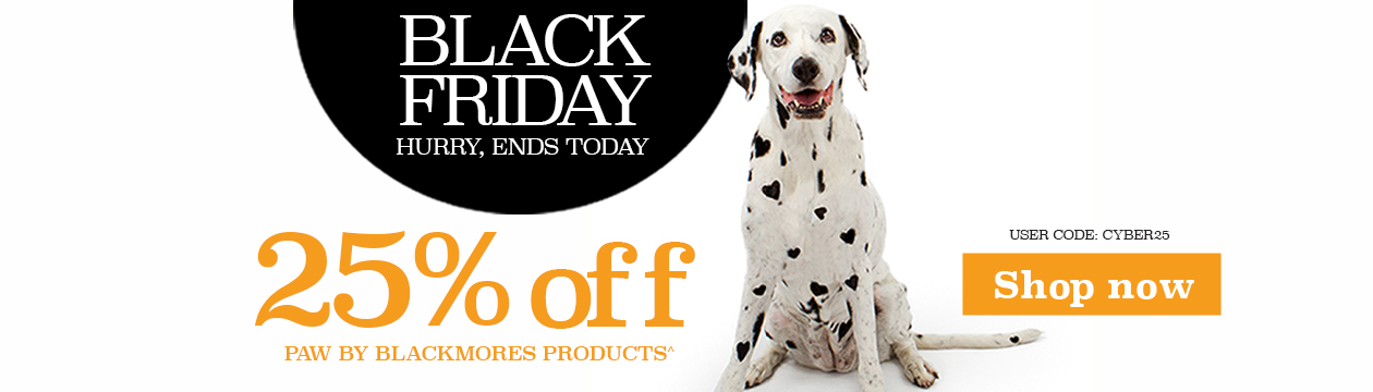 PAW by Blackmores Black Friday Sale