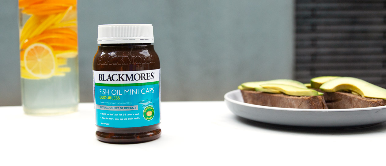 Blackmores Fish Oil Mini Caps Odourless