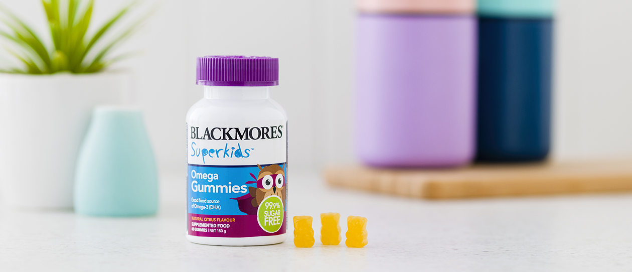 Blackmores Superkids™ Omega Gummies