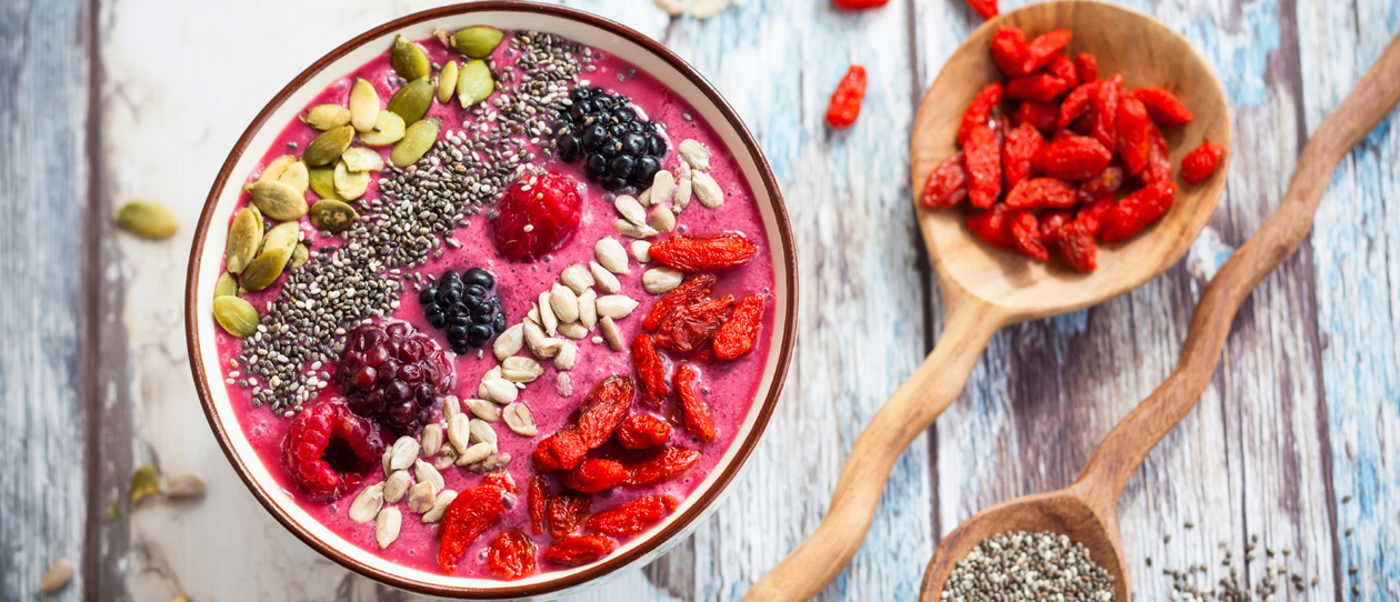5 ways to wellbeing with superfoods