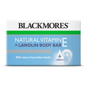 Natural Vitamin E + Lanolin Body Bar