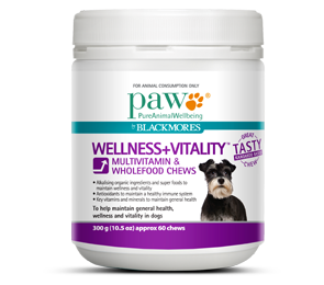 Wellness + Vitality Multivitamin & Wholefood Chews