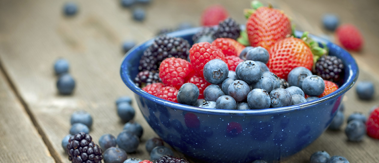 Berries work wonders in the gut