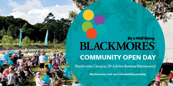 Blackmores Community Open Day