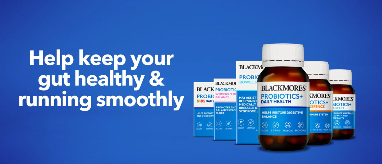 Probiotics why choose Blackmores