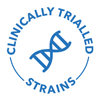 clinically trialled strains