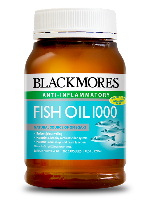 Blackmores vitamins and supplements australia 39 s most for Fish oil weight loss dosage