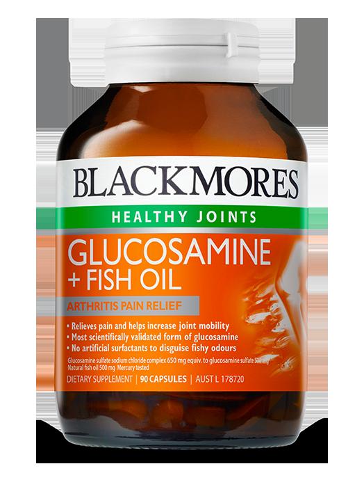 Glucosamine + Fish Oil - Blackmores