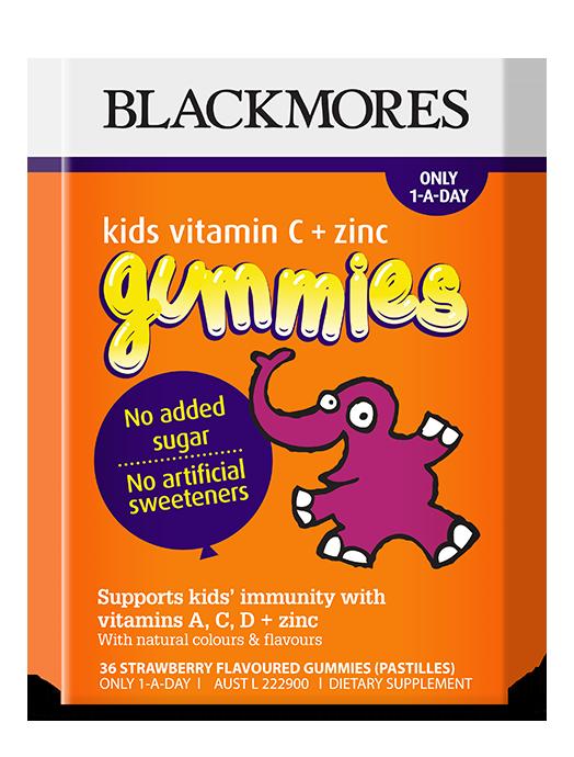 Kids Vitamin C Zinc Gummies Blackmores