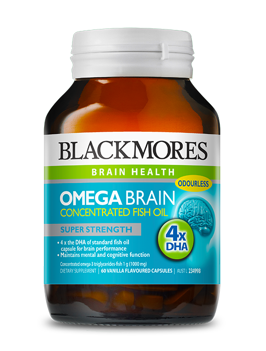 Omega brain blackmores for Best fish oil for pregnancy