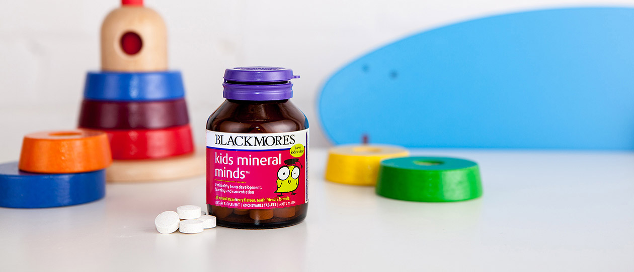 Blackmores Kids Mineral Minds