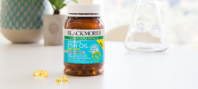 Best quality of blackmores odourless fish oil mini caps for Best quality fish oil