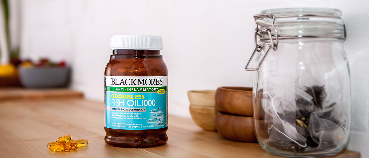 Blackmores Odourless Fish Oil 1000