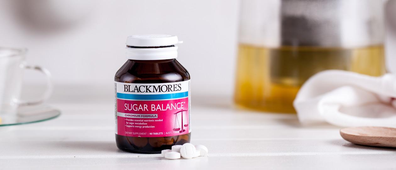 Sugar balance blackmores